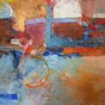 'Construction' (1996) oil on canvas 60x75cm  £1200