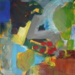 'Knot Garden' (2000) oil on board 37x29cm  £800