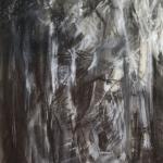 'In the Woods' Conté 64x44cm  £500